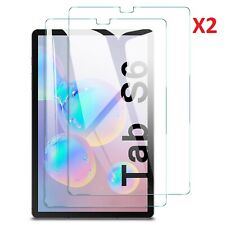 (2 Pack) For Samsung Galaxy Tab S6 Tempered Glass Screen Protector T860/T865