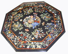 """52"""" MARBLE DINING center INLAY WORK CENTER COFFEE TABLE TOP"""