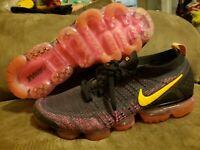 Nike Air Vapormax Flyknit 2 Pink Blast Black 942842-008 Size 13 Mens