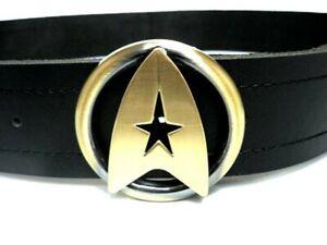 Star Trek TWOK The Wrath of Khan Logo COSpay Costume Uniform Outfit Belt+Buckle