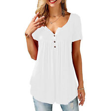 69837c62187b2 Womens Summer Tunic Tops Plus Size Casual Loose Tops.