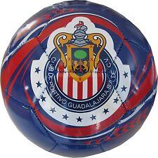 2013 Chivas de Guadalajara Soccer Ball-Blue Home Silver#5 [Misc.]