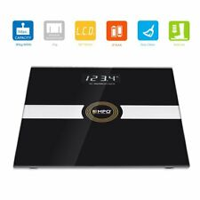 EMPO High Precision Digital Body Weighing Bathroom Scale- Extra-Large, BLACK