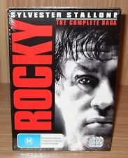 Rocky (The Complete Saga 6-Movie Collection) Dvd 6-Disc Set Brand New & Sealed