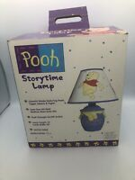 VINTAGE Disney Winnie The Pooh Hunny Pot Lamp With Shade Boxed NIB