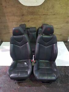 ALFA ROMEO GT BLACKLINE INTERIOR BLACK LEATHER SEATS COMPLETE FULL SET