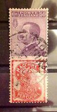REGNO 1924-25 PUBBLICITARIO 50 CENT SINGER - USATO -
