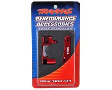 Traxxas Red Aluminum Caster Block Set (2) For Slash 4X4 #6832R OZ RC Models