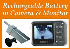 Portable Monitor Wireless Backup Car Camera Rechargeable Magnetic Base USA ship
