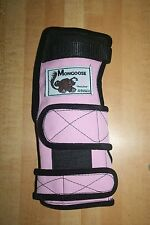 "Mongoose ""Lifter""  Bowling Wrist Band Support, MRLP, Right Hand, Medium, Pink"