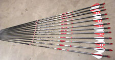 Easton Arrow Axis Under Armour 6MM 12pk 340 Spine Under Armour Fletched Arrows
