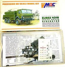 KaMAZ 4310 Motor Driven Generador Kit construcción MAC Distribución 87016 H0 1: