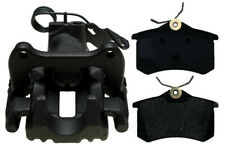 Disc Brake Caliper-Non-Coated, Loaded with Semi-Metallic Pads Rear Left Reman