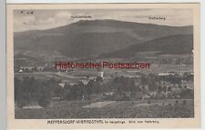 (88100) AK Meffersdorf Wigandsthal (Pobiedna), Blick vom Hellerberg 1925