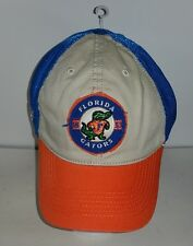 Florida Gators NCAA Blue Tan and Orange Fitted M/L TOW New Hat
