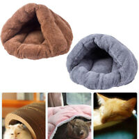 Pet Cat Dog Soft Bed House Puppy Cave Sleeping Mat Pad Winter Warm Nest Durable