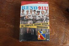 Reno 911! - The Complete 2nd Season (DVD, 2005, 3-Disc Set) New Factory Sealed!!