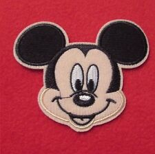 Disney Micky Mouse Embroidered Iron On / Sew On Applique Patch Badge 9cm x 8cm