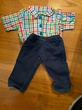 New ListingAmerican Girl Doll Bitty Baby Boy Shirt And Jeans