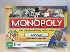Monopoly Canada Electronic Banking Board Game - Complete