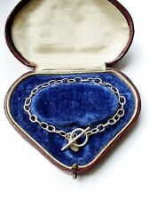 Sterling Silver Bracelet TBAR Link 5.45gr