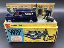 Corgi 448 Mini Police Van & Tracker Dog  - N Mint In Good Original Box