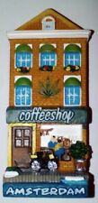 Amsterdam coffeeshop magnet, magneet