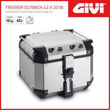 VALIGIA [GIVI] MONOKEY TREKKER OUTBACK 42 LT 2018 UNIVERSALE - ARGENTO - OBKN42A