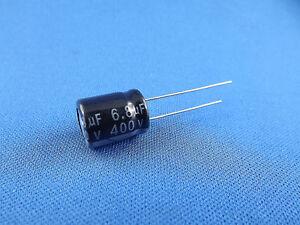 3x Elko 6,8uF (µF), 400V radial