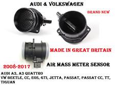 Engine Mass Air Flow Sensor For Audi & Volkswagen A3 TT BEETLE CC EOS JETTA  2.0