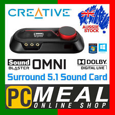 Creative Sound Blaster Omni Surround 5.1 External USB Soundcard