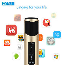 Handheld Wireless Bluetooth Karaoke Player Microphone KTV Party For Android PC