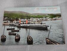More details for postcard  p8f2 ardrishaig crinan  canal vgc