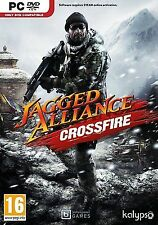 Computer pc dvd gioco Jagged Alliance: CROSSFIRE (standalone add-on) NUOVO