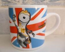 London 2012 Olympic Games Official Product Mug Cup Wenlock Official Mascot NICE!