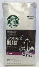 NEW STARBUCKS FRENCH ROAST DARK Whole Bean Coffee 40 Oz/2.5 LB /1.13kg