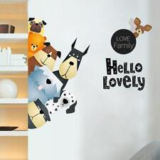 DIY Removable Art Vinyl Animals Wall Sticker Decal Mural Home Kids Room Decor