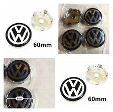 4 centres de roue 60mm emblème cache moyeu VW GOLF MK5 Mk6 MK7 JETTA PASSAT B6