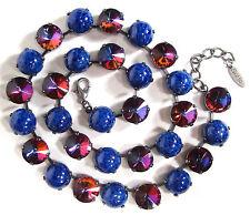 Runde Modeschmuck-Halsketten & -Anhänger aus Glas und gemischten Metallen