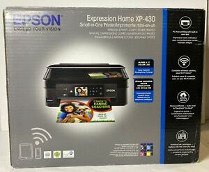Epson Expression Home XP-430 Wireless Color Photo Printer Scanner Copier