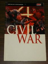 Civil War by Mark Millar, Steve McNiven Marvel (Paperback, 2007)< 9781905239603
