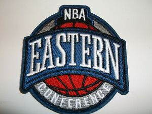 Eastern Conference Embroidered PATCH~3 1/2 x 3 1/4~Iron Sew On~NBA~Ships FREE