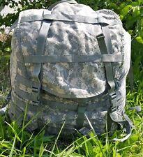 THREE(3) used acu military surplus large packs universal camo  good condition