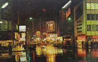 Vintage Oriental Theatre Randolph Street Chicago Illinois Postcard