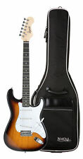 Shaman Element Serie STX-100VS E-Gitarre Set ST Single Coil Gigbag Sunburst