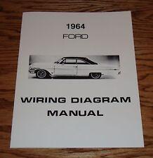 1964 Ford Car Wiring Diagram Manual 64