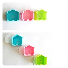 Kids Lovely Bathroom House Shape Toothbrush Holder New