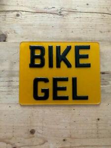 """3D Gel Motorcycle Motorbike Quad bike Motor Bike Number Plate - 9x7"""" Road Legal"""