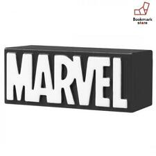 New Takara Tomy Metal Figure Collection Marvel Logo Collection Black