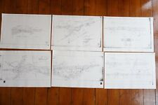 More details for c1982 euston to coppenhall junction track plan railway diagram map x6